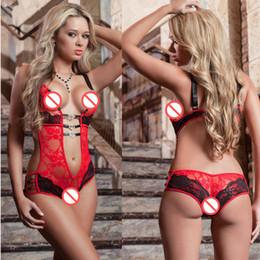 Lingerie Sexy Europa e América lace Perspectiva Siamese terno Sexy lingerie sexy Tentação perspectiva jacquard pijama feminino de