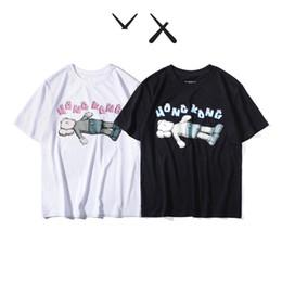 2019 nuevo estilo de camisa deportiva Nuevo diseñador de camiseta de algodón de calidad Nueva camiseta con cuello en O manga corta camiseta de marca fantasma camisetas de hombre y mujer camiseta estilo deportivo rebajas nuevo estilo de camisa deportiva