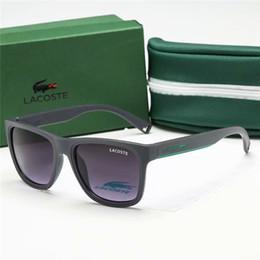 katzenaugen metallrahmen Rabatt Markendesigner Mens Womens Sunglasses Plank Frame Metallscharnier Glaslinse Cat Eye Sonnenbrille