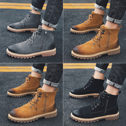 porzellan pelze Rabatt 2020 Herren Martin Stiefel Martens Leder Winter warme Schuhe Motorrad Herren Ankle Boot Doc Martins Fur Paar Oxfords Schuhe 39-44 Made in China