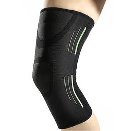 61c48a561e 1PCS Sweat Absorbent Basketball Support Silicone Knee Pad Breathable  Bandage Knee Brace Tennis Cycling Kneepad Protect XL
