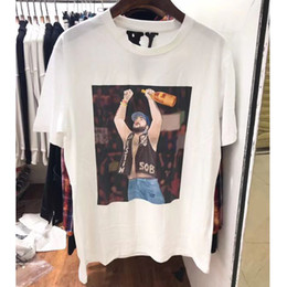 fe916f011bcd Vlone x A AP Yams Day T-shirt Men Women ASAP ROCKY t shirt Harajuku tshirt  Hip hop Streetwear Brand Summer Cotton Clothing Tees Tops Clothes