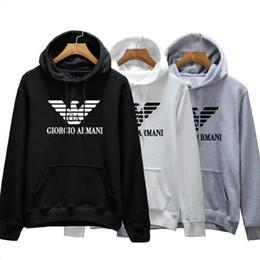 8040a3681 2019 adler pullover Hoodie Frauen Pullover Italienische Luxusmarke Design  Männer Neue Hoodie Victory Flying Eagle Print