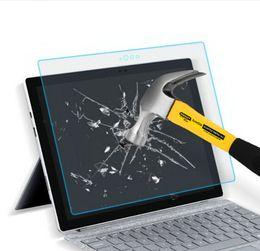 2019 microsoft pro Protetor de tela de vidro para o Microsoft Surface Pro Livro GO Pro6 2018 9H Dureza Premium Glass Film desconto microsoft pro