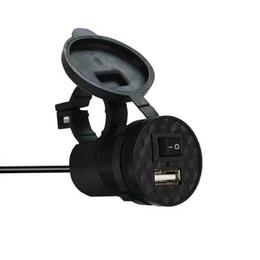 12v2v motocicleta veículo elétrico carregador de telefone celular bateria de carro espelho retrovisor do carro à prova de água com carregador de carro USB de Fornecedores de tablet rosa preto