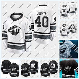 Stella 77 online-40 Devan Dubnyk Minnesota Wild 2019 All-Star Game 11 Zach Parise 77 Brad Hunt Kevin Fiala Jason Zucker Ryan Suter Nick Seeler Jersey
