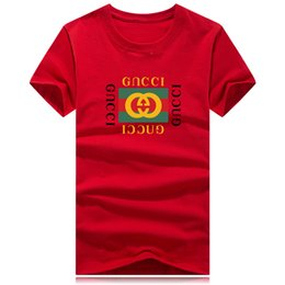 2019 chicos rock tees Monc para hombre Diseñador de cocodrilo Camisetas Nueva moda Verano Hombre Camiseta Casual Camiseta de manga corta con cuello redondo Mezcla de algodón Camisas de marca polo 1