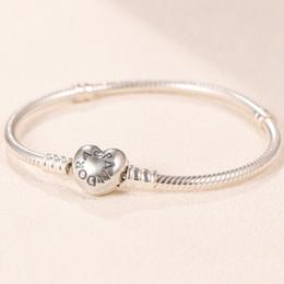 Bracelet en anneau nouveau style en Ligne-Réel 925 Sterling Silver CZ Diamond RING avec LOGO et boîte d'origine Fit Pandora style bague de mariage bijoux de fiançailles pour les femmes