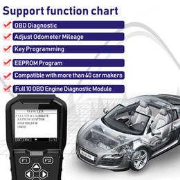 Correção de milhagem eeprom on-line-2019 OBDPROG MT601 Car Key Programador Mileage odómetro Correction Ferramenta EEPROM Código Pin Leitor completa OBD2 Diagnostic Substituir X100