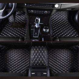 2019 pajero sport Auto-Fußmatten nach Mass für Mitsubishi Pajero ASX Lancer SPORT EX Zinger FORTIS Outlander Rutschfeste Teppiche Liner Car-Styling günstig pajero sport