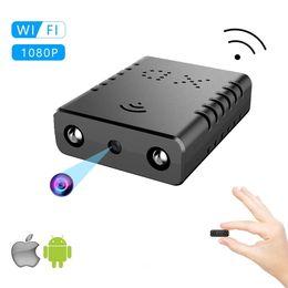 Alarm ip онлайн-Новый Высокое Качество XD-W HD 1080 P Мини Wi-Fi Камера Инфракрасного Ночного Видения Камеры Видеонаблюдения IP / AP Камера Обнаружения Движения Удаленной Сигнализации Макс 128 ГБ