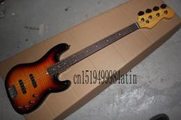 2019 chitarra basso di alta qualità Spedizione gratuita Top Quality Custom shop 4 corde basso chitarra iniziativa Precision Bass guitar In magazzino sconti chitarra basso di alta qualità