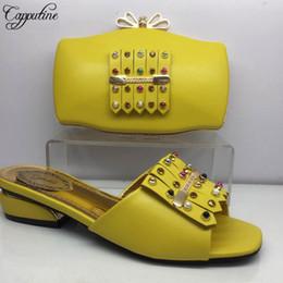 f7cbb661a Итальянский дизайнер Desgin Elgent Pu Обувь и сумка Новая мода Женская обувь  на низком каблуке и сумки для свадебного платья 7цветный сток Bl985c