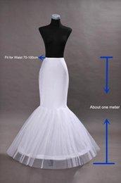 Vestidos de fiesta netos online-Nuevo Caliente Caliente 1 aro Net Enagua Vestido de Novia Sirena Crinolina Prom Vestidos de Noche Enaguas Accesorios de Novia de la boda