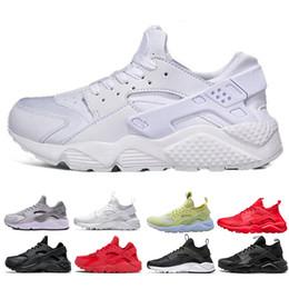 7ca66c231ee6f5 Nike air huarache Heißer Verkauf Huarache Ultra Run Schuhe dreifach Weiß Schwarz  Rot Männer Frauen Laufschuhe gelb grau Huaraches Sport Schuh Herren Damen  ...