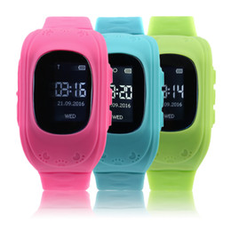 резиновые браслеты Скидка 2017 Newest Anti Lost Children Kid Smart watch GPS Position Rubber Band Wrist Watch Bracelet Electronic Wat For Android For IOS