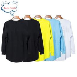 Homens novos do estilo camisetas on-line-Frete grátis palma anjos da árvore nova qualidade Top 5-cor de volta grandes impressões das mulheres T-shirt do hip-hop T-shirt Homens Estilo de Rua