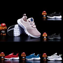 2019 zapatos de voleibol para niños Nike Presto React Zapatos deportivos Presto zapatos para niños FashionTraining Volleyball baby boy girl gift Casual kids Sneakers zapatos de voleibol para niños baratos