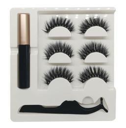 Canada En gros FG série 14 styles la plus haute qualité 3in1 5magnetics cils coffret cadeau avec Magnet eyeliner liquide et pincettes 50set Offre