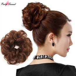Pelucas elegantes online-Pf Wing Winding Hair Circle Bandas elásticas para el cabello Bud Head Accesorios para el cabello para mujeres Elegante Holder Plate Headband Headwear Ts0941