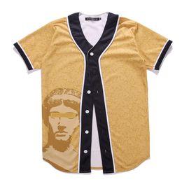 2019 nueva jersey gratis Nueva promoción grande hombre negro número 23 impresión moda camiseta manga corta O- cuello camuflaje béisbol Jersey envío gratis rebajas nueva jersey gratis