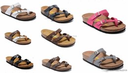 805 Mayari Arizona Gizeh 2018 rue été hommes femmes sandales plates pantoufles en liège unisexe sand beah casual chaussures imprimer mixte taille 34-45 ? partir de fabricateur