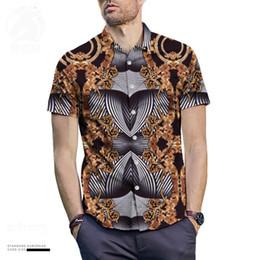 2019 verão vintage masculino verão Tribunal do vintage tarja impressão camisa de manga curta mens moda blusa camisa de roupas de verão Gráfico Imprimir Playboy Camisa verão vintage masculino verão barato