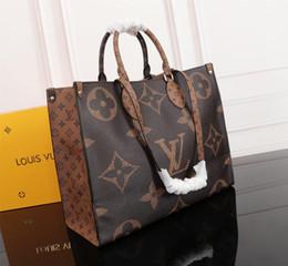 2019 totes brancos baratos das bolsas Tote bolsa totes sacos das mulheres saco de designer de bolsas de grife bolsas de luxo bolsas de luxo sacos de embreagem bolsa de ombro de couro 44571 12712