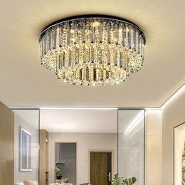 New Modern Chandeliers Lighting Crystal Stair Chandelier For Living Room Loft Kitchen Led Cristal Ball Lights Люстры Lustre