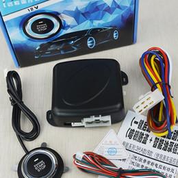 BEESCLOVER Universal 12 v Car One Buttom Start System Key Chave de entrada passiva sem chave Botão de inicialização de um sistema de chave r30 de