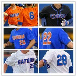 Jack de beisebol on-line-NCAA Florida Gators 20 Pete Alonso 37 Jackson Kowar 23 Jack Leftwich 17 Michael Byrne 26 Nick Horvath Basebol CWS costurado Jerseys