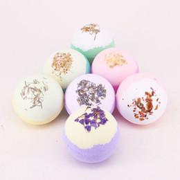 Bolas de coco on-line-Bombas de banho naturais orgânicas Bolha artesanal de banho de espuma Banho de bomba Fizz Rich em óleo essencial Manteiga de karité Óleo de coco Óleo de semente de uva