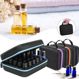 Huile essentielle Etui 30 bouteilles 5ML10ML 15ML Huile de parfum Boîte à huile essentielle Voyage Portable Titulaire du portage Vernis à ongles Sac de rangement ? partir de fabricateur