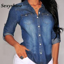 lowest price 9db16 6494b Sconto Le Camicie In Denim Abbottonano Le Donne | 2019 Le ...