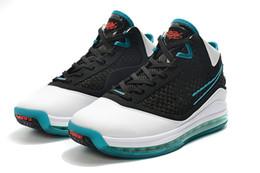 Lebron calça basquete mais baixo on-line-2020 Mais recente LeBrons 7 baixos tênis de basquete frescas criados rei equalit Lightyear Lebron sapatilha 7s treinadores desportivos size7-12