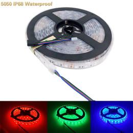 5050 RGB LED Yüksek Işık Şeridi SMD IP68 Su Geçirmez 24 V 5 M 300 Lamba Boncuk Balık Tankı Işık Kemer için Araba Ev TV Aydınlatma nereden