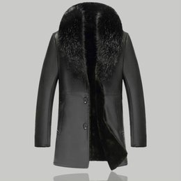 Artificial Fur Coat 2019 Winter Mens Faux Fur Coats Jackets Parka Windbreaker Two Ways Wear Plus Size Long Fur Overcoat S71 Back To Search Resultsmen's Clothing Jackets & Coats