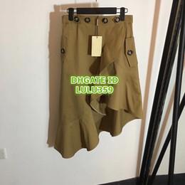 4af375bf5c 8 Fotos Botones de falda larga en venta-Las mujeres del verano del botón de  la colmena