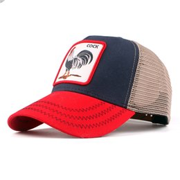 05d48b9f07 Custom Baseball Cap Hip-hop Street Fashion Personality high quality Outdoor  Cute Animal 6style cock Rooster Sport Hat Caps For Women and Men