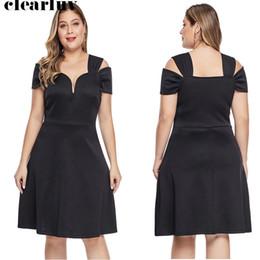 Sweetheart Prom Dresses Vestidos De Gala 2019 Short Black Elegant Women Party Dresses T018 New Plus Size Short Sleeve Prom Gowns
