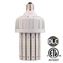 2019 cores led mr16 DIODO EMISSOR de luz Lâmpada de Milho 40 W E27 Espiga De Milho Base Médios Led Lâmpadas 5000 K 150 W MH Igualdade ETL DLC Listados LED Lâmpadas de Substituição de Farol
