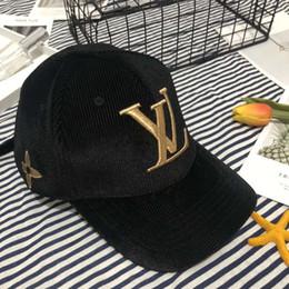 2019 золотая кепка выпускников Шляпы Моды Caps Baseball Cap Hat для женщин людей Caps Регулируемых шляп 4 цвета Факультативного New Hot Tops высоко качества