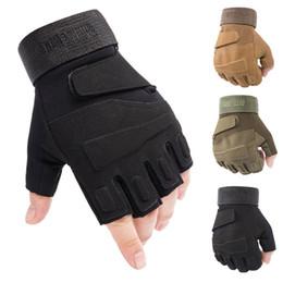 aquecedores de mão sem dedos Desconto Novas luvas táticas em 2019 homens meio-dedos das forças especiais CS proteção de combate luvas ao ar livre para caça e montanhismo