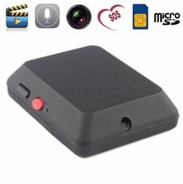 camara de edicion Rebajas Alta calidad Mini cámara Última edición X009 Mini Monitor GSM con SOS y función GPS Cámara Sim Card Video