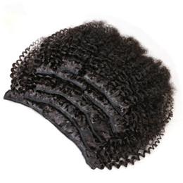 7 adet / takım Afro Kinky Kıvırcık Klip Saç Uzantıları 120g 100% İşlenmemiş Bakire Moğol Saç Kinky Kıvırcık İnsan Remy Saç Uzantıları Klip nereden