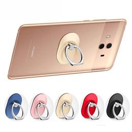 smart inhaber iphone Rabatt 360 ° Ring Finger Ständer Halterung Halter Finger Griff Handy Ständer Halter für Smartphones Handy iphone 5 6 7 8 X Samusng S8 S7