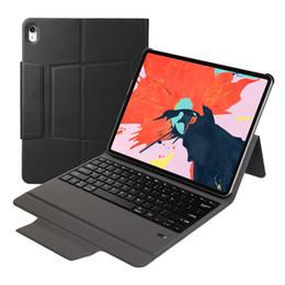 lenovo ultra slim Desconto ultra fino tudo em um usb abs sem fio teclado bluetooth caso carteira de couro para iPad pro 11 12.9