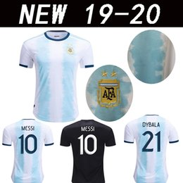 23e6615f68d America cup 2019 Argentina MESSI DYBALA de Avellaneda jersey 2020 Bou  Fernández Centurión football shirts top quali 19 20 jerseys