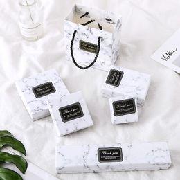Küpeler Bilezikler Kolyeler Beyaz Kare Dikdörtgen For Marble Box Taşıma 24pcs Kağıt Karton Mücevher Kutuları Depolama Ekran nereden