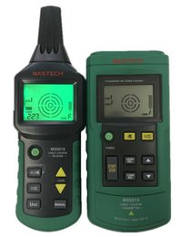 MS6818 Portable testeur de ligne de détecteur de câble fil métallique câble détecteur de ligne localisateur Tracker Finder 12 ~ 400V ? partir de fabricateur